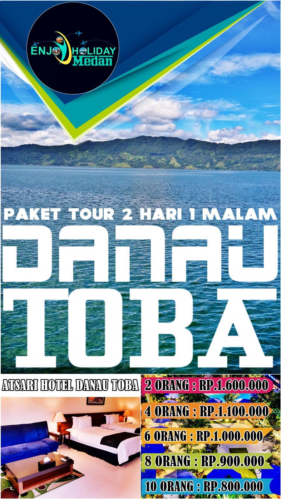 2D1N Pakej Percutian Muslim Ke Medan | 1N Atsari Parapat