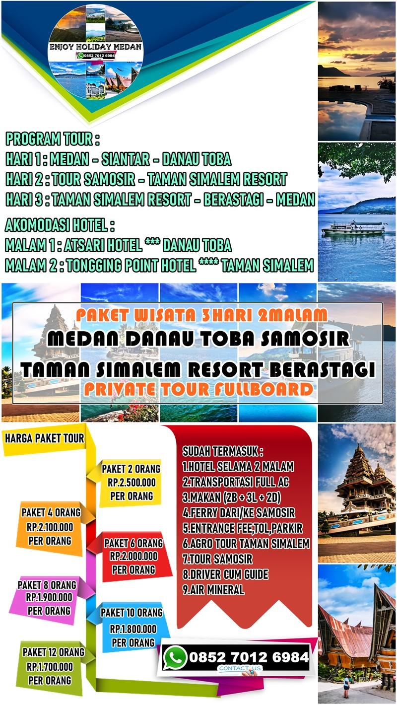 3 Hari 2 Malam Paket Tour Taman Simalem Resort