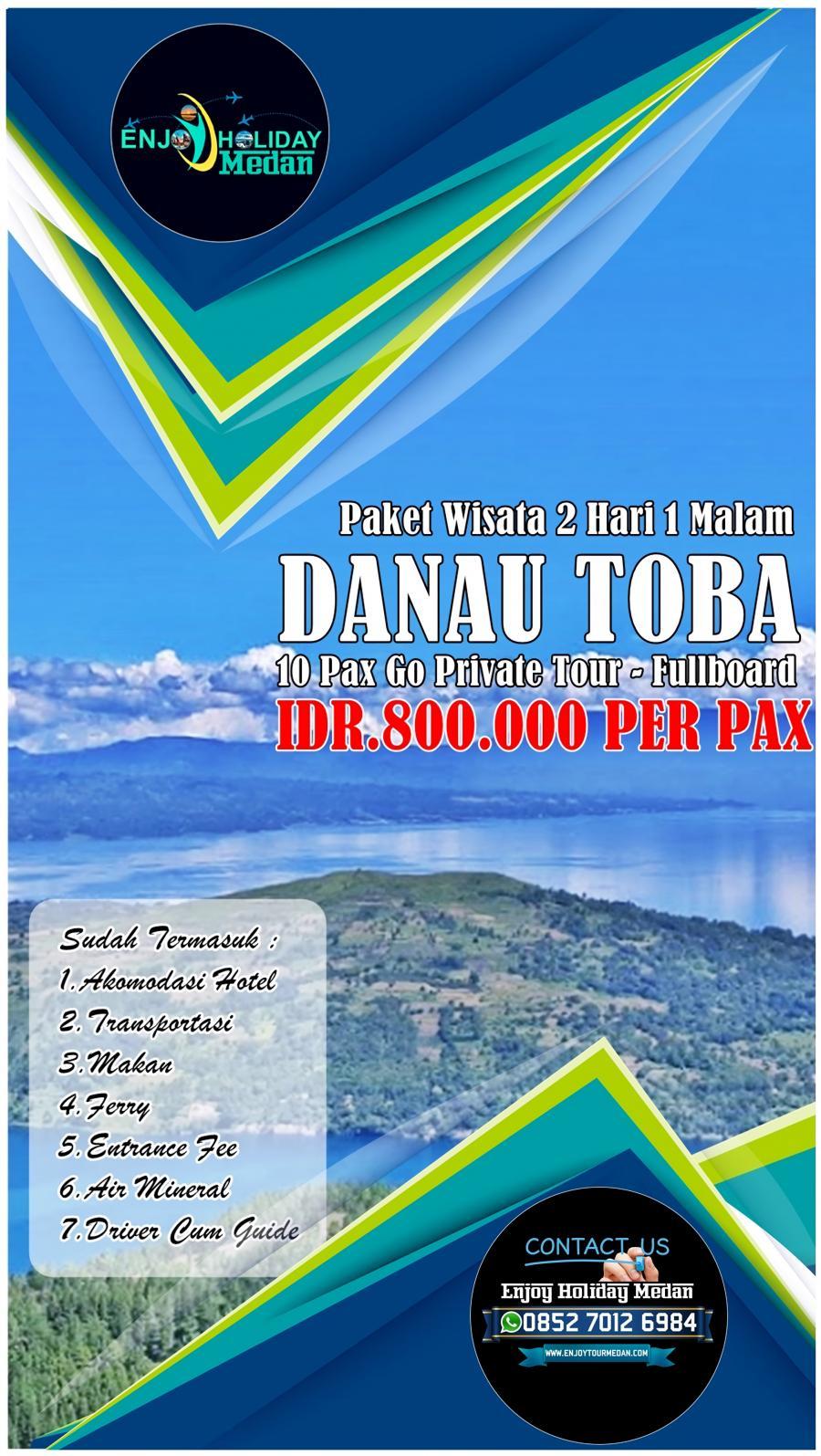 3H2M Paket Kunker Medan-Berastagi-Danau Toba