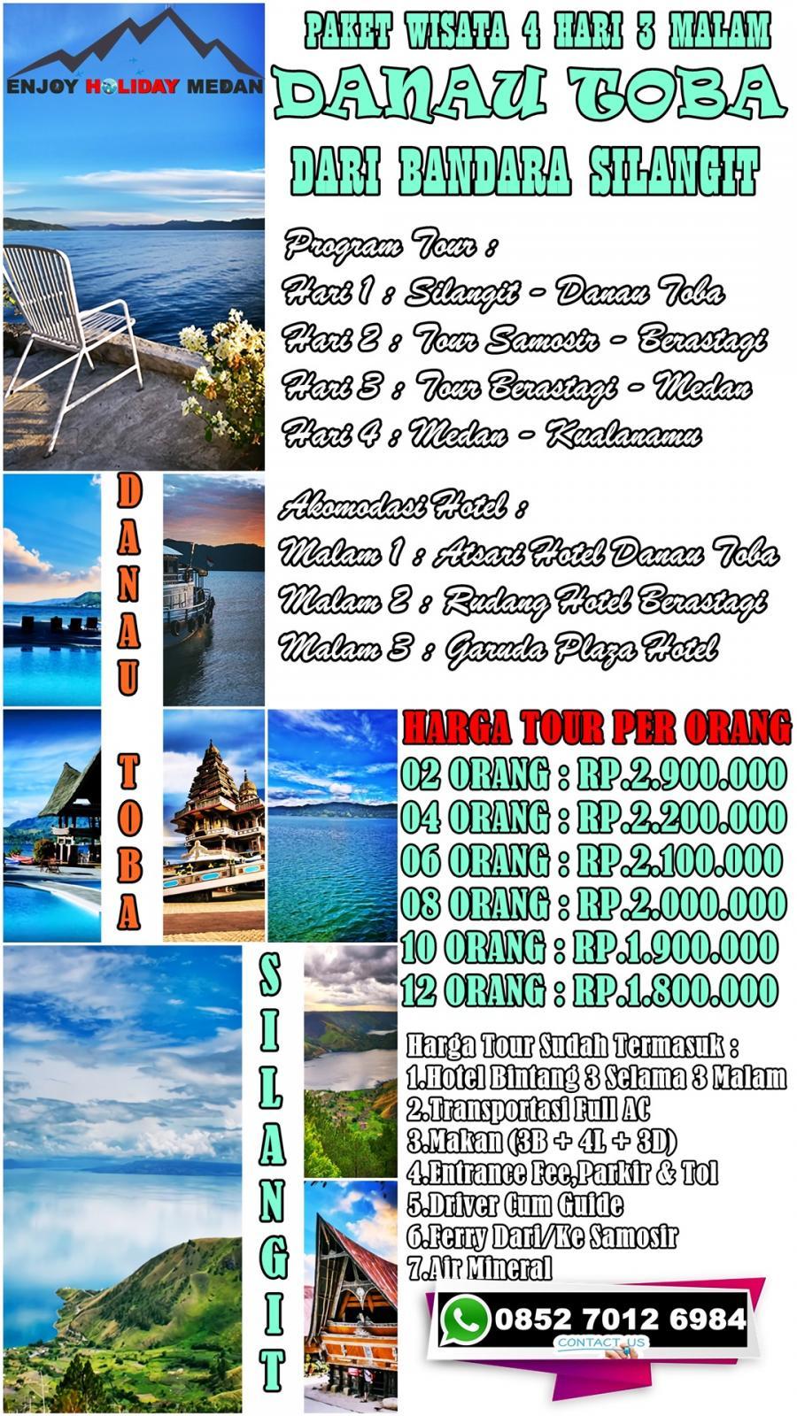 4H3M Silangit - Balige - Danau Toba - Samosir
