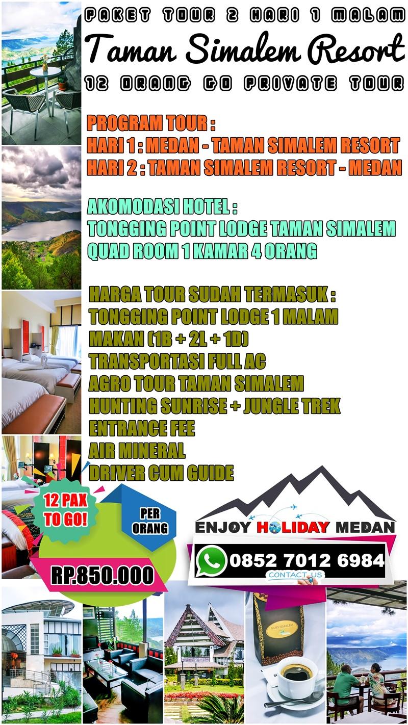Taman Simalem Resort Merek Hills